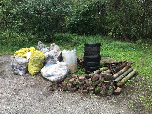 Koristuspäeval kokku kogutud jäätmed viiakse jäätmejaamadesse nii kiiresti kui võimalik